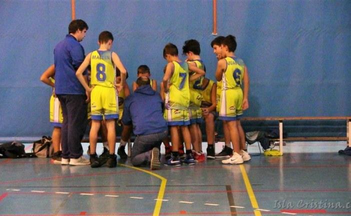 Sigue la racha positiva del CB Isla Cristina cadete al ganar en Aljaraque