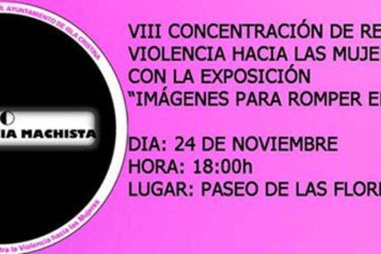 Isla Cristina acoge la VIII Concentración de Rechazo a la Violencia contra las Mujeres