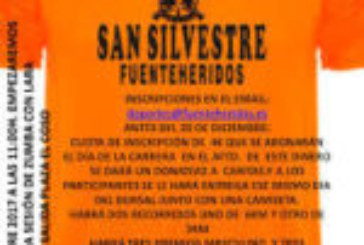 IV Carrera San Silvestre en Fuenteheridos