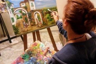 Cuentos y cuadros mágicos de Inmaculada  Mora en Fundación Caja Rural del Sur para encontrarse con los niños