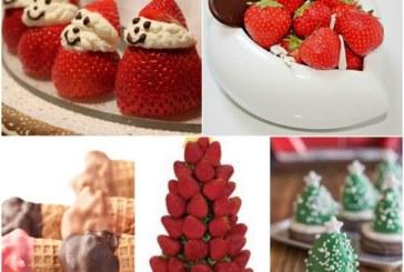 Navidad con Fresas para niños