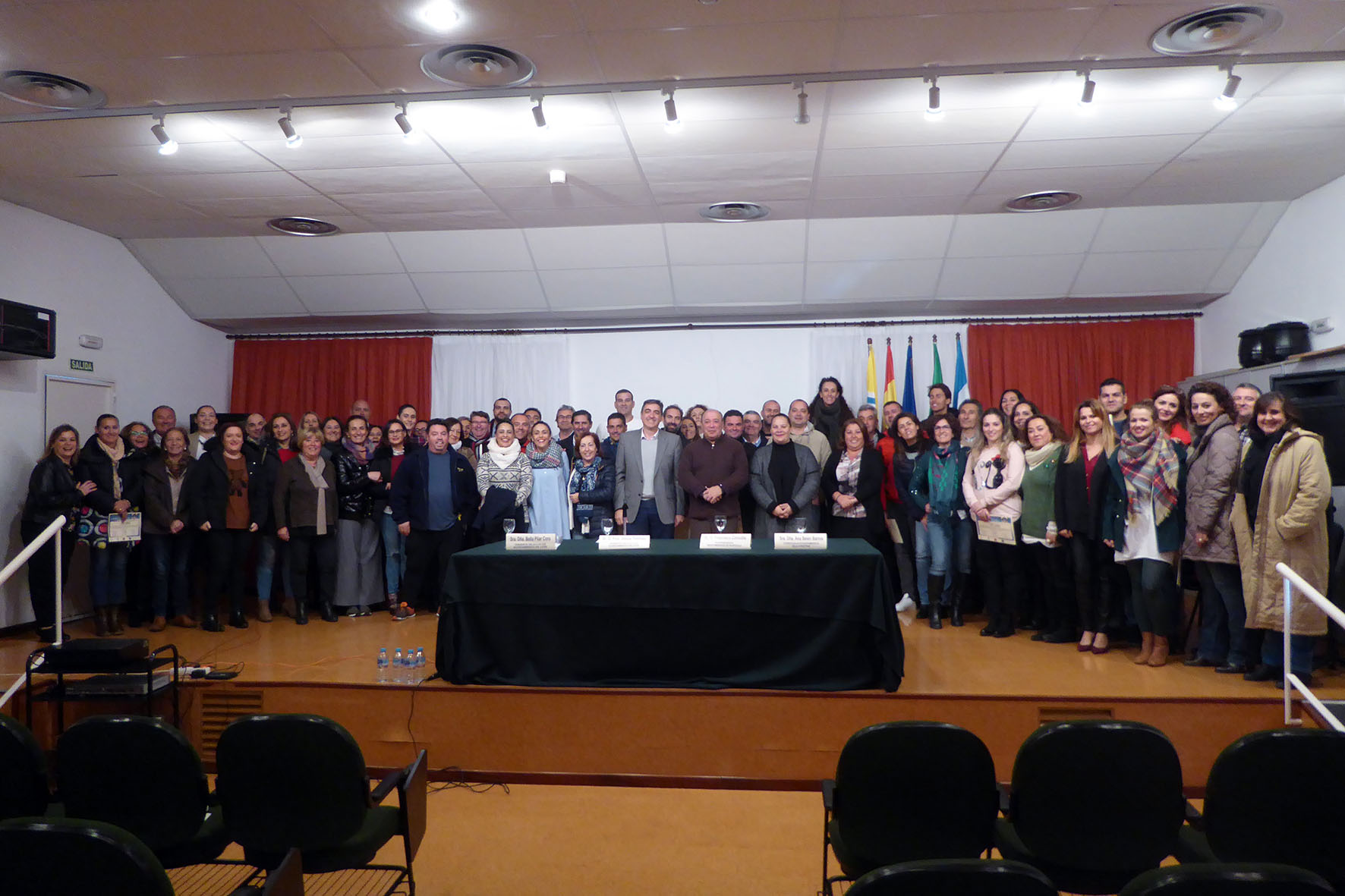 Clausurado en Islantilla los cuatro cursos del XX Plan Agrupado de Formación Continúa
