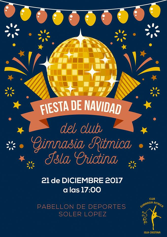 Gran Fiesta de Navidad del Club Gimnasia Rítmica Isla Cristina