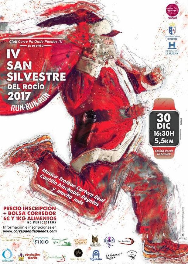 Almonte celebra la IV San Silvestre del Rocío
