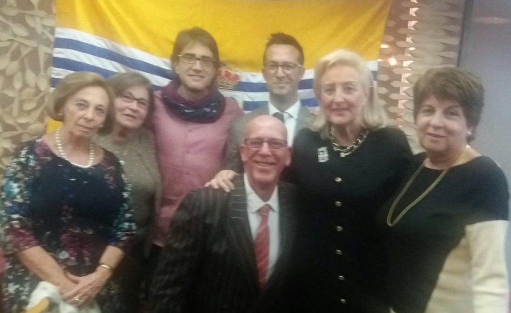 La Asociación amigos de Isla Cristina en Madrid celebró su Tradicional Almuerzo Navideño