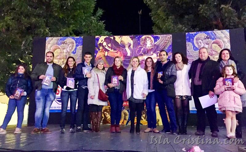 Volvieron las nevadas a Isla Cristina y se entregan los Premios de Belenes