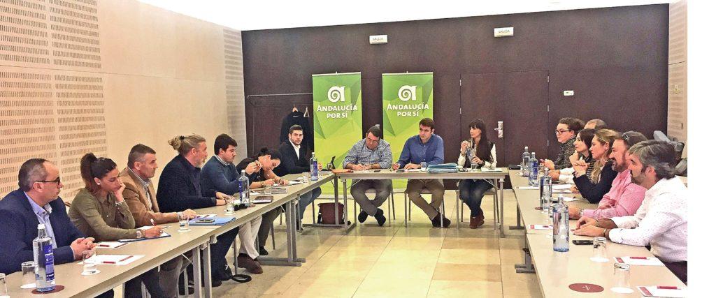 """Andalucía Por Sí """"2017 no ha sido un año para enmarcar""""   Isla ..."""