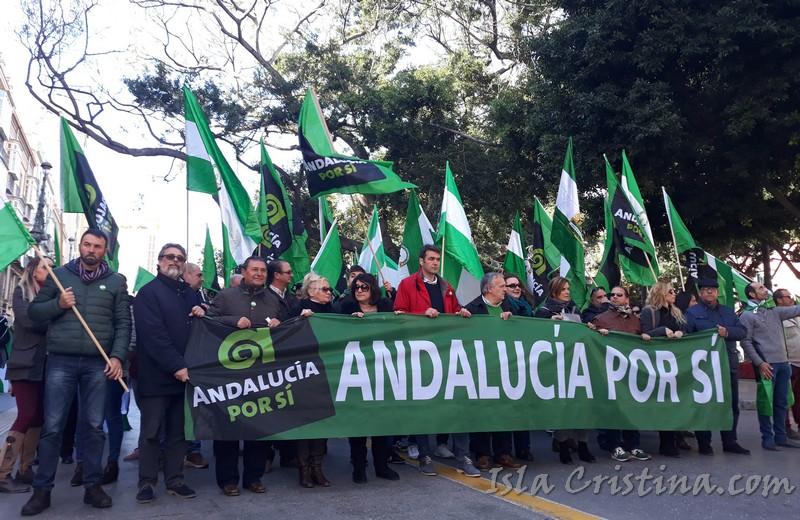 """""""Andalucía, ni un paso atrás"""""""