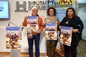 La Caravana por la Paz 2018'apela a la solidaridad de los onubenses con la población refugiada saharaui