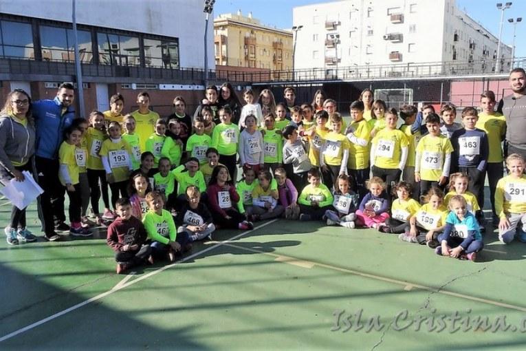 """Isla Cristina acogió la """"V Competición de Atletismo"""""""