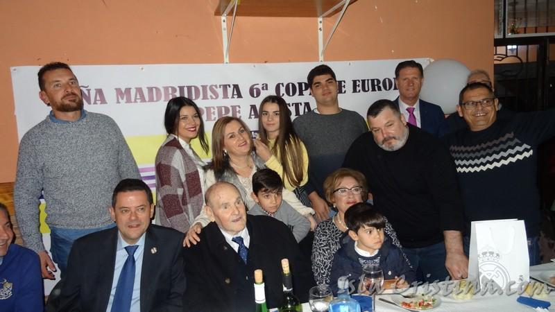 Visita a Isla Cristina de Tomas Roncero y Paco Bonet, para el Homenaje de la Peña Madridista a Pepe Acosta