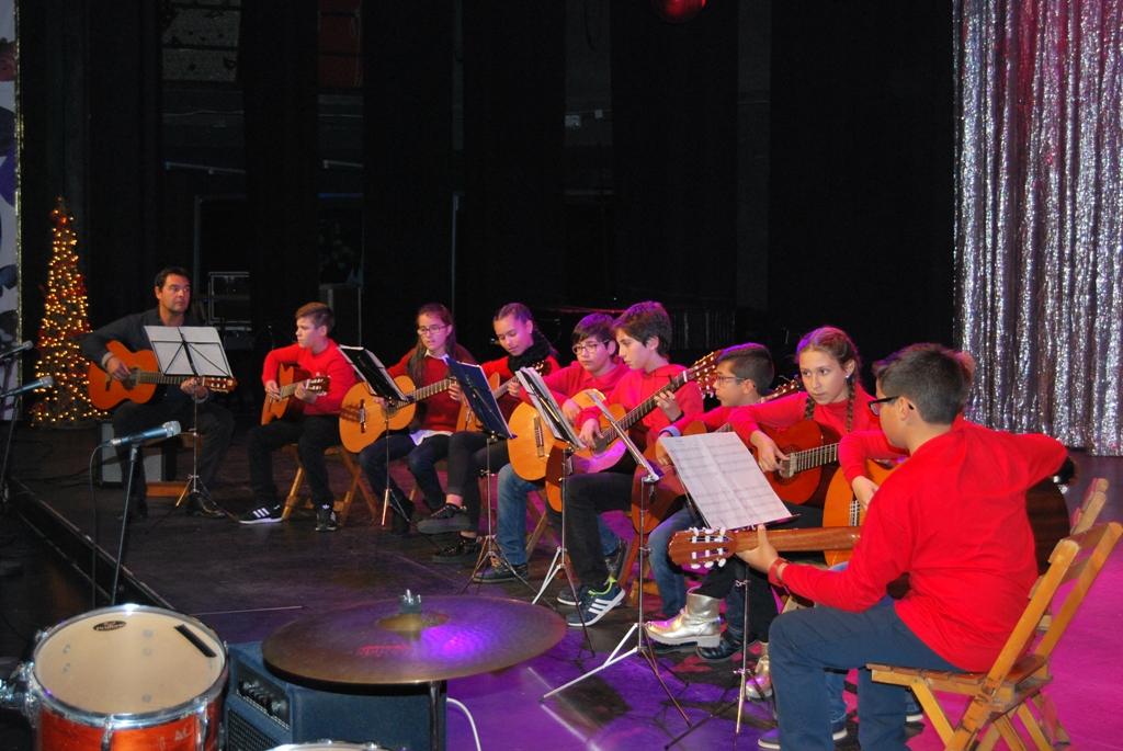 El Conservatorio de Música de Isla Cristina ofreció su tradicional concierto navideño