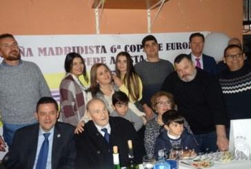 Pepe Acosta Moro recibe una Cena Homenaje de la Peña del Real Madrid de Isla Cristina
