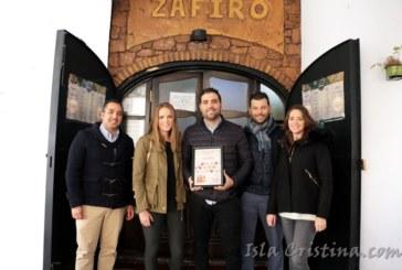 La Bodeguita Zafiro Ganador de la Ruta de la Tapa del Festival de Cine Iberomericano de Huelva