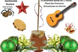 Zambomba Rociera en la Hermandad del Rocío de Isla Cristina