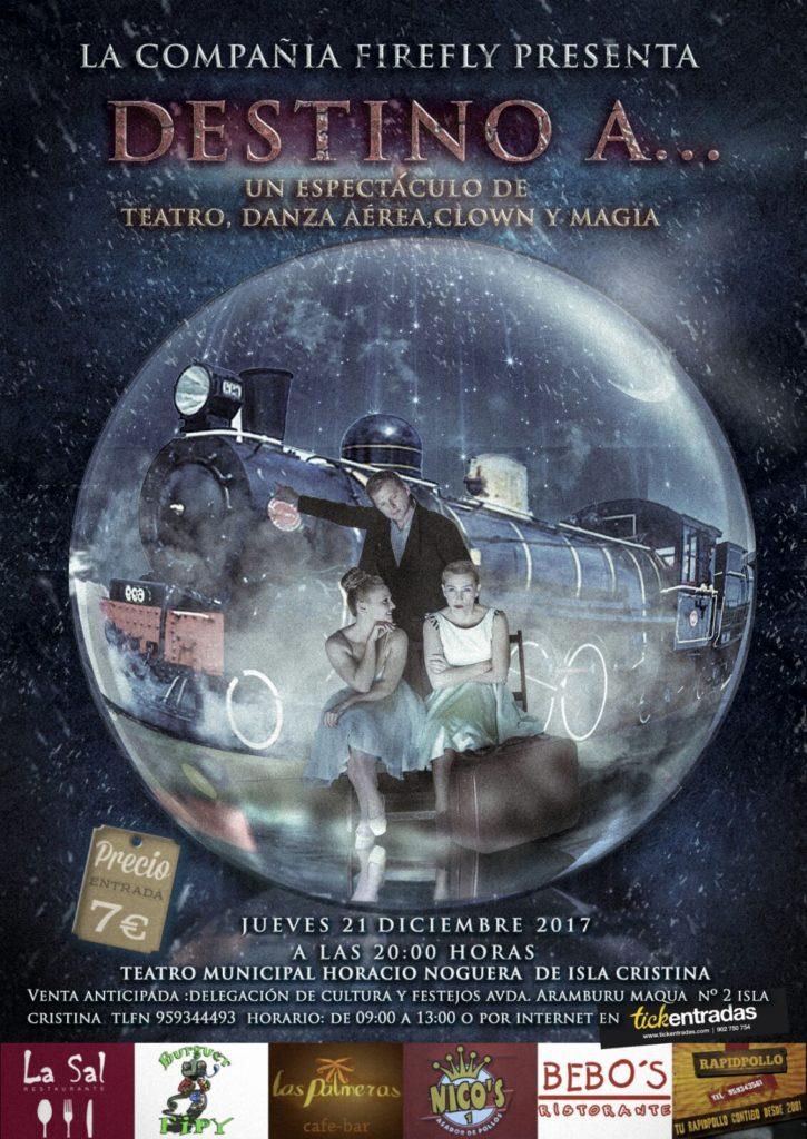 La Compañía Firefly Presenta en Isla Cristina «Destino A»…