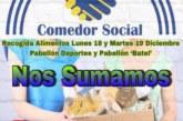 Recogida de alimentos de FITTrainer10 para el Comedor Social de Isla Cristina