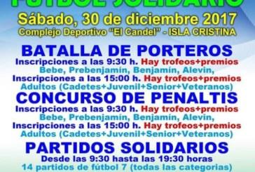 Isla Cristina acoge este sábado una jornada de Fútbol Solidario