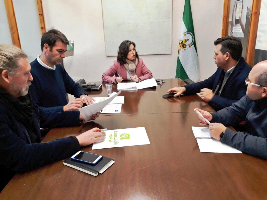 Andalucía Por Sí comparte con COAG sus propuestas contra la sequía y de apoyo al campo andaluz