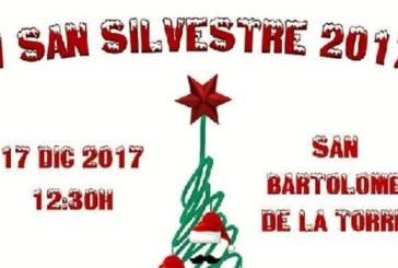 San Bartolomé de la Torre celebra la V San Silvestre Bartolina