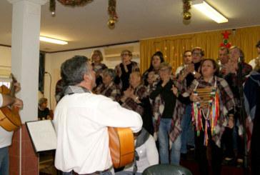 Los mayores isleños celebran la Navidad