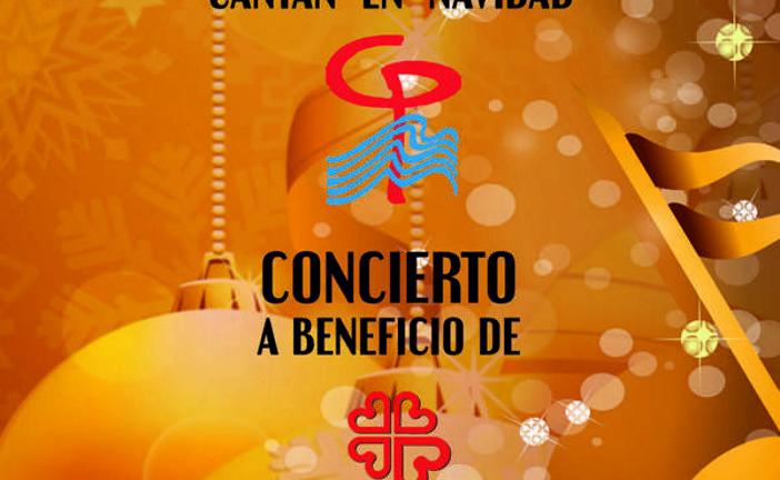Concierto Solidario de Navidad a beneficio de Cáritas de la Coral Polifónica Isla Cristina y la de Tomares