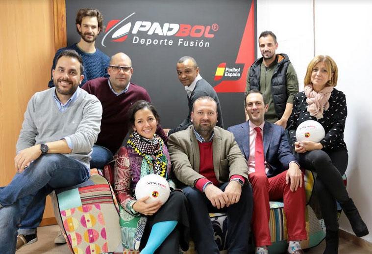Padbol España presenta su nuevo equipo de gestión