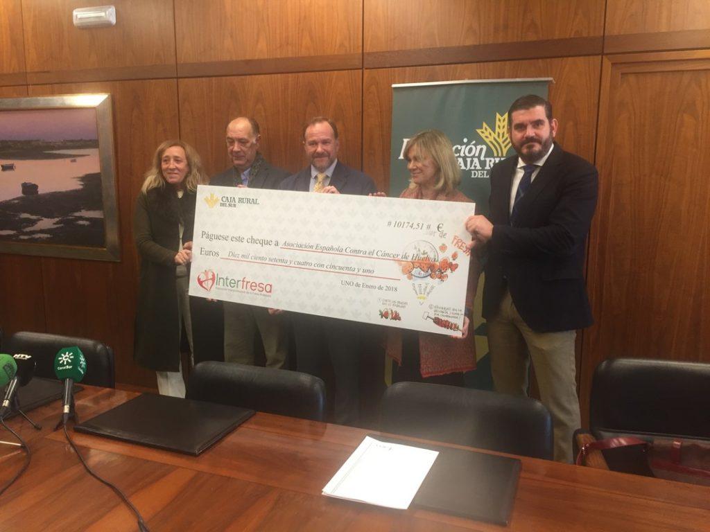 La iniciativa solidaria de Interfresa logra 10.174,51 euros para la Asociación Española contra el Cáncer