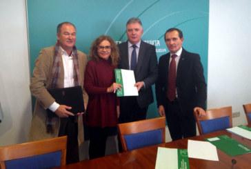 Entrega de la resolución del Taller de Empleo 'Quercus' en Islantilla