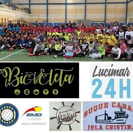 Buenos resultados de las alevines del Voleibol Isla Cristina Vic, en Cartaya