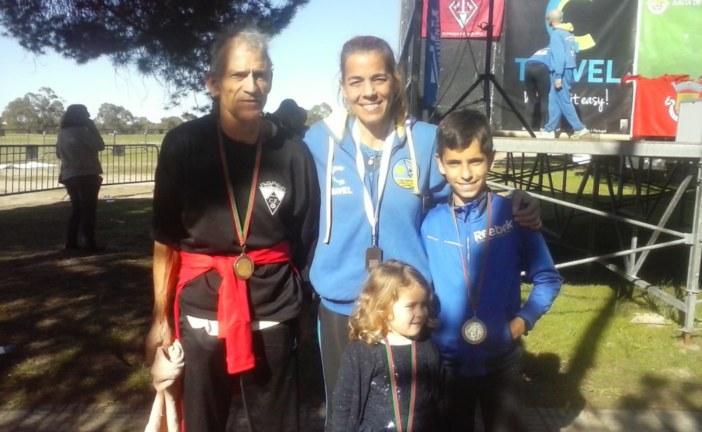 Julio Fernández y Andrés Guerrero destacan en Portugal