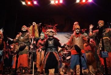 Agrupaciones de Isla Cristina en las semifinales del concurso de Agrupaciones del Carnaval Colombino
