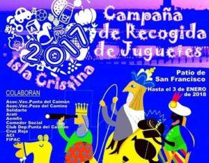 Todos los niños de Isla Cristina recibieron juguetes el Día de Reyes