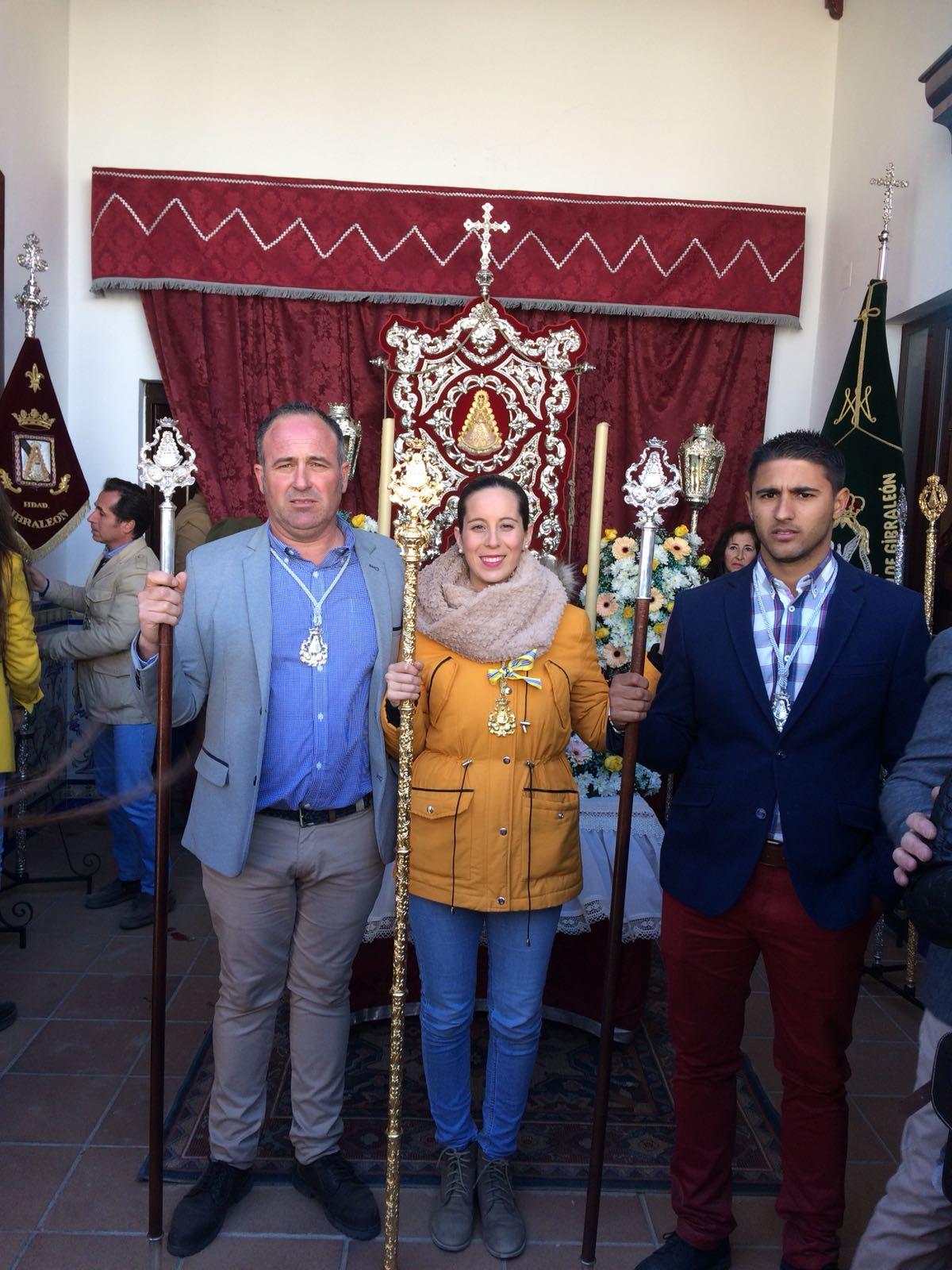 La Hermandad del Rocío de Isla Cristina con Gibraleón en su Peregrinación al Rocío