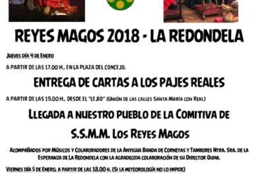 Programación de Reyes de La Redondela