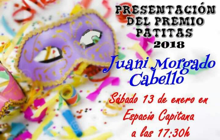 """Isla Cristina acoge este próximo sábado la Presentación del premio Manuel Fragoso """"El Patitas"""