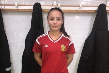 Irati Real, participa en los entrenamientos de la selección española femenina sub 16