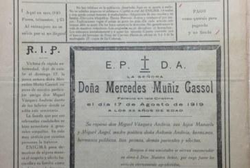 El Documento del Mes de Isla Cristina recupera la Prensa local, de 1918