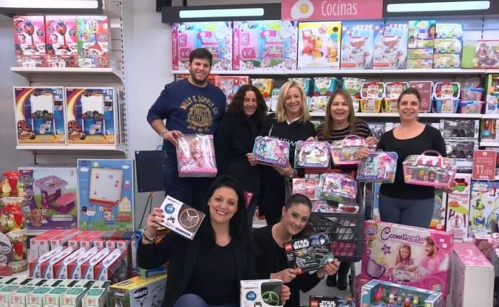 Se adquieren los juguetes del Radio Maratón Solidario de Isla Cristina