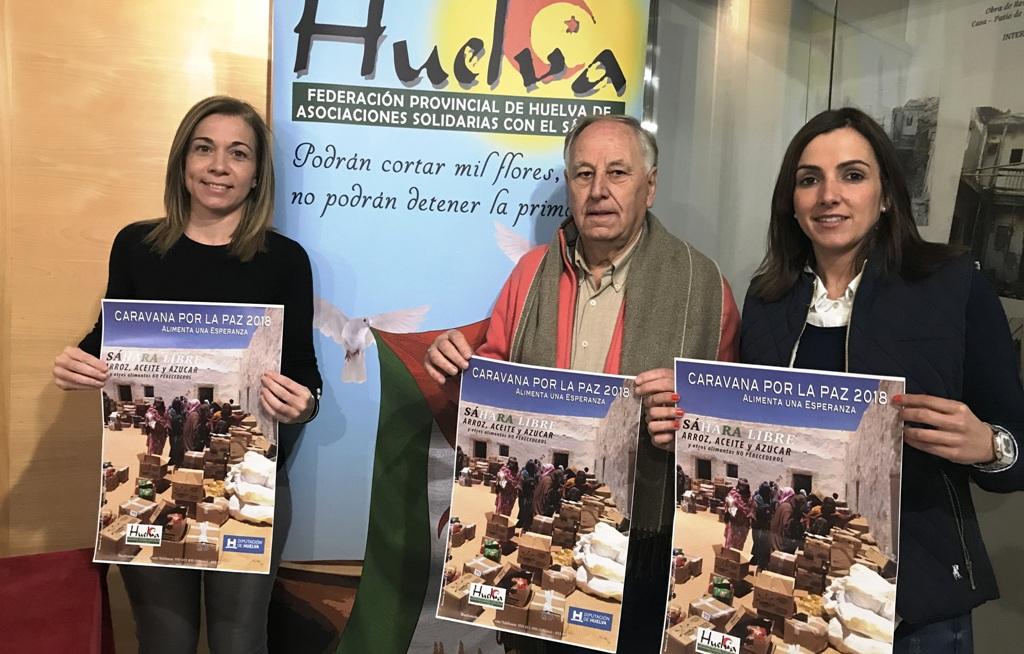 El ayuntamiento de Isla Cristina pide alimentos en nombre de la Caravana por la Paz para el Sahara