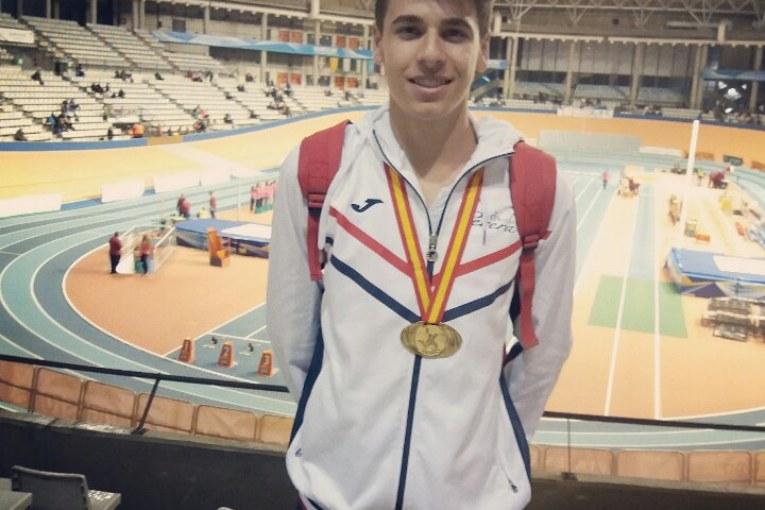 El atleta isleño Raúl Camacho Campeón de España de la Copa de Clubes Sub 20