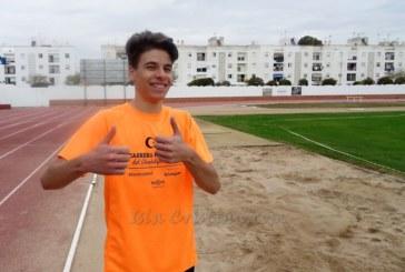 El atleta isleño Raúl Camacho compite en la Copa de Clubes Sub 20