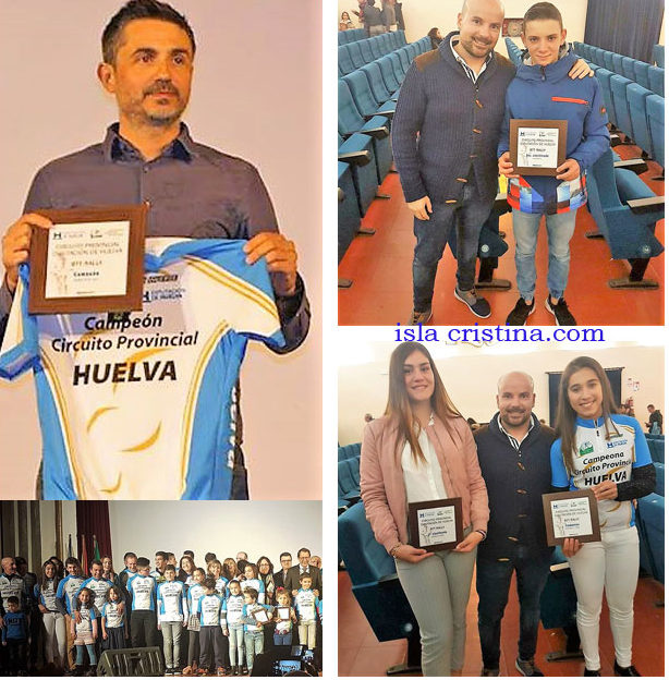 Isla Cristina presente en la Gala del Ciclismo de Huelva