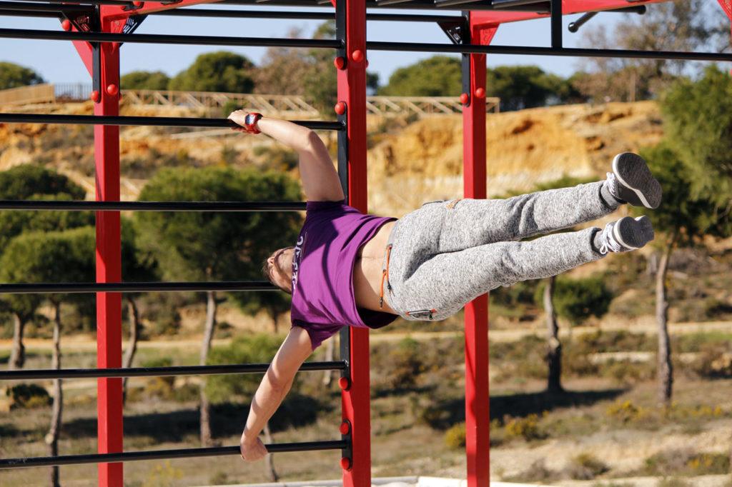 Taller de Calistenia en los 'Sábados Deportivos' de Islantilla