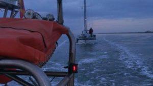 'LS Calipso', de salvamento de Cruz Roja, con base en Isla Cristina ha llevado a cabo en 2017 un total de 57 intervenciones