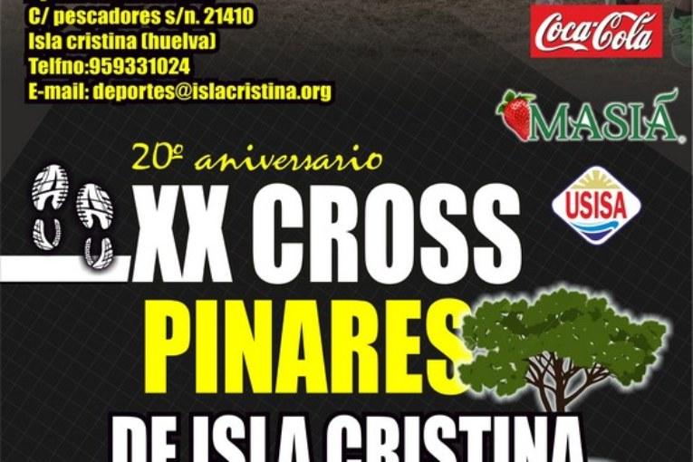 """Abierto el plazo de Inscripciones para el """"XX Cross Pinares de Isla Cristina"""""""