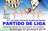 El derbi provincial entre el Punta del Caimán y el Ayamonte se jugará el domingo a partir de las cinco
