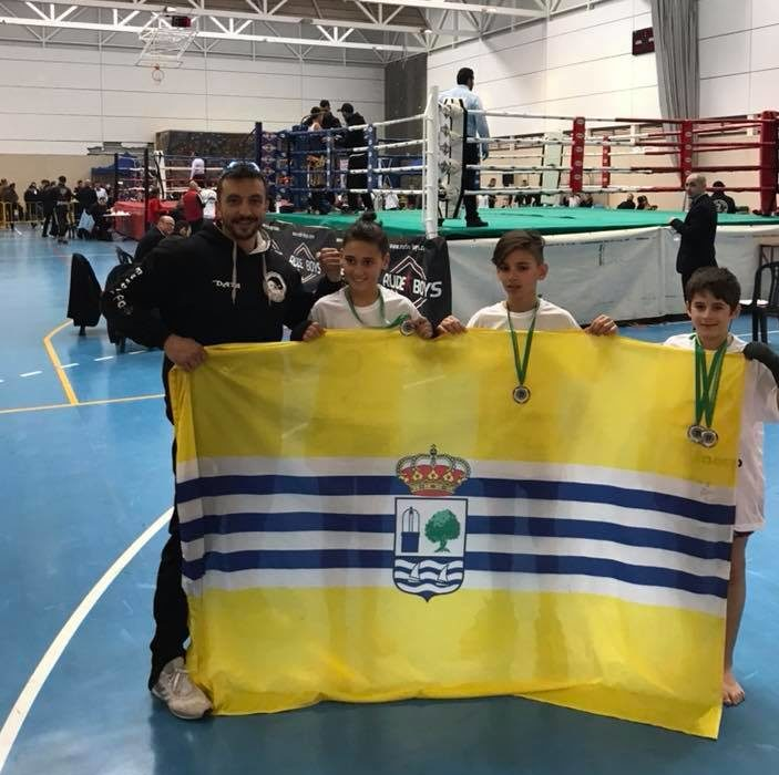 Plata y Oro para Daniel Rodríguez y Miguel Pérez, en el Campeonato de Andalucía de Muay Thai