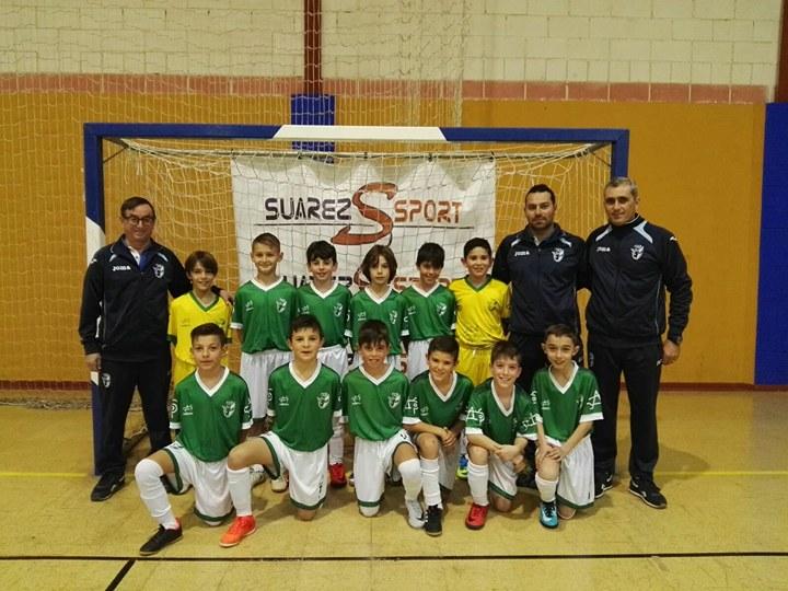 El Fútbol Sala isleño presente en el andaluz de Selecciones Provinciales Benjamín