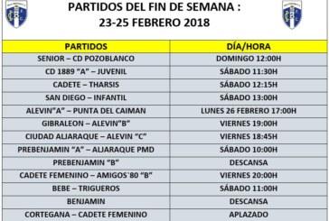 Agenda Fin de Semana equipos Isla Cristina FC